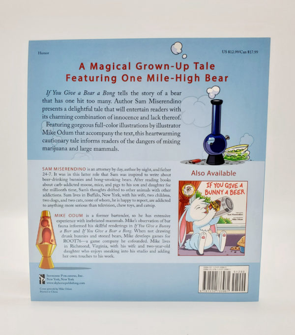 If You Give a Bear a Bong book back